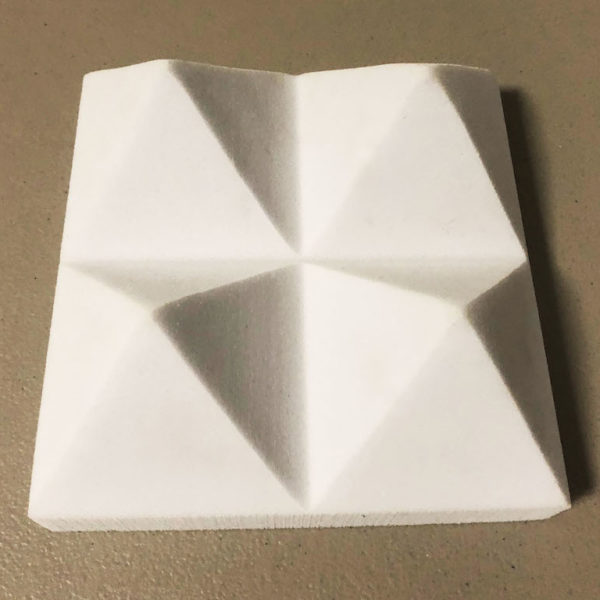 diamond acoustical foam